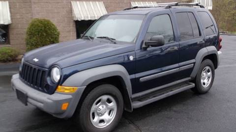 2006 Jeep Liberty for sale at Depot Auto Sales Inc in Palmer MA