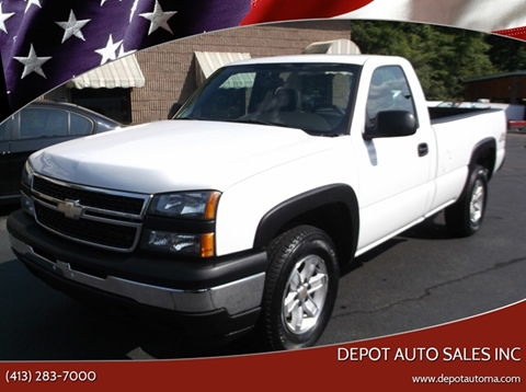 2006 Chevrolet Silverado 1500 for sale at Depot Auto Sales Inc in Palmer MA
