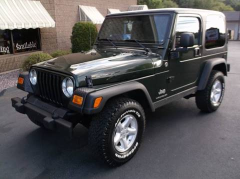 2005 Jeep Wrangler for sale at Depot Auto Sales Inc in Palmer MA