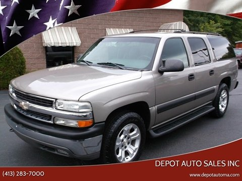 2003 Chevrolet Suburban for sale at Depot Auto Sales Inc in Palmer MA