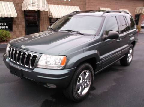 2003 Jeep Grand Cherokee for sale at Depot Auto Sales Inc in Palmer MA