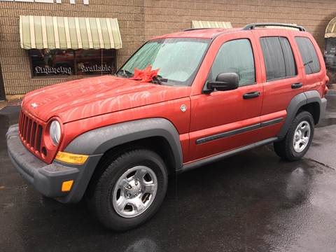 2007 Jeep Liberty for sale at Depot Auto Sales Inc in Palmer MA