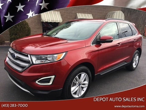 2015 Ford Edge for sale at Depot Auto Sales Inc in Palmer MA