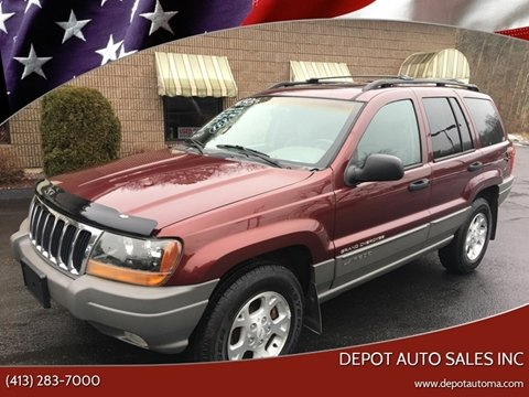 2000 Jeep Grand Cherokee for sale at Depot Auto Sales Inc in Palmer MA