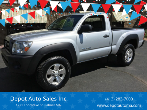 2006 Toyota Tacoma for sale at Depot Auto Sales Inc in Palmer MA