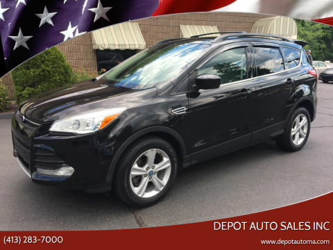 2013 Ford Escape for sale at Depot Auto Sales Inc in Palmer MA