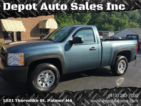 2011 Chevrolet Silverado 1500 for sale at Depot Auto Sales Inc in Palmer MA