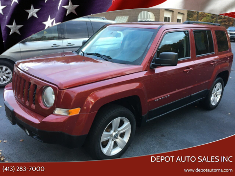 2011 Jeep Patriot for sale at Depot Auto Sales Inc in Palmer MA