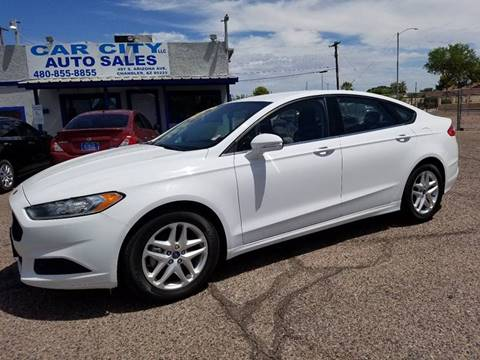 2013 Ford Fusion for sale in Chandler, AZ