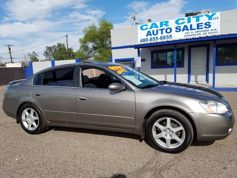 Nice 2003 Nissan Altima For Sale At CAR CITY AUTO SALES LLC In Chandler AZ