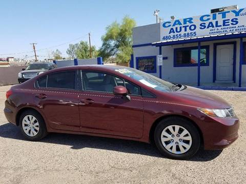 2012 Honda Civic for sale in Chandler AZ