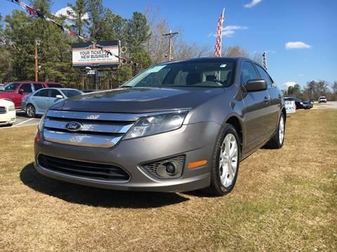 2012 Ford Fusion for sale in Graniteville, SC