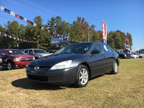 2004 Honda Accord for sale at US 1 Auto Sales in Graniteville SC