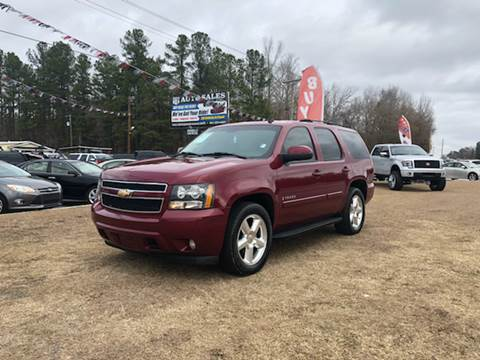 2007 Chevrolet Tahoe for sale at US 1 Auto Sales in Graniteville SC