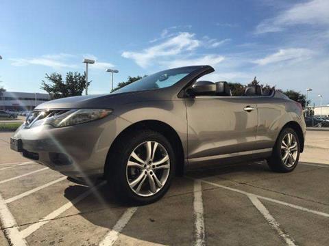 2011 Nissan Murano CrossCabriolet for sale in Carrollton, TX