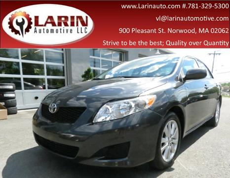 2009 Toyota Corolla for sale in Norwood, MA