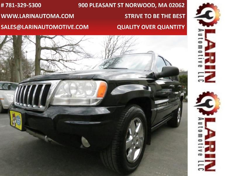 2004 Jeep Grand Cherokee For Sale At LARIN AUTO In Norwood MA