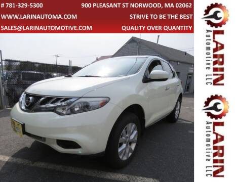 2011 Nissan Murano for sale at LARIN AUTO in Norwood MA