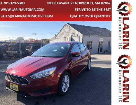 2016 Ford Focus for sale at LARIN AUTO in Norwood MA
