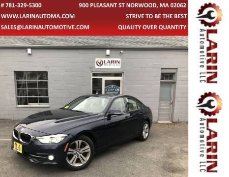 2016 BMW 3 Series for sale at LARIN AUTO in Norwood MA