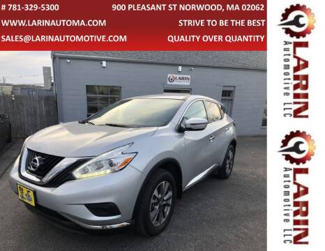 2017 Nissan Murano for sale at LARIN AUTO in Norwood MA