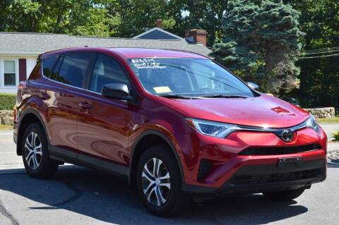 2018 Toyota RAV4 for sale at LARIN AUTO in Norwood MA