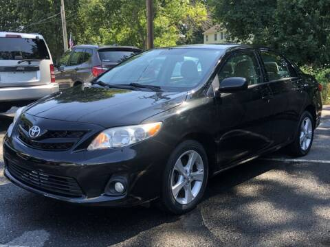 2012 Toyota Corolla for sale at LARIN AUTO in Norwood MA