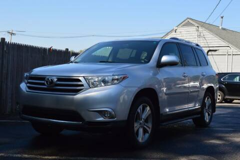 2013 Toyota Highlander for sale at LARIN AUTO in Norwood MA