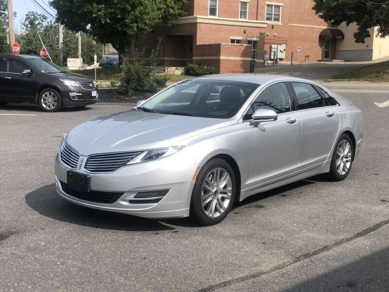 2013 Lincoln MKZ for sale at LARIN AUTO in Norwood MA