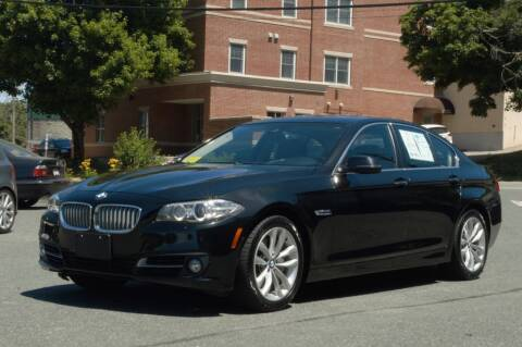 2016 BMW 5 Series for sale at LARIN AUTO in Norwood MA