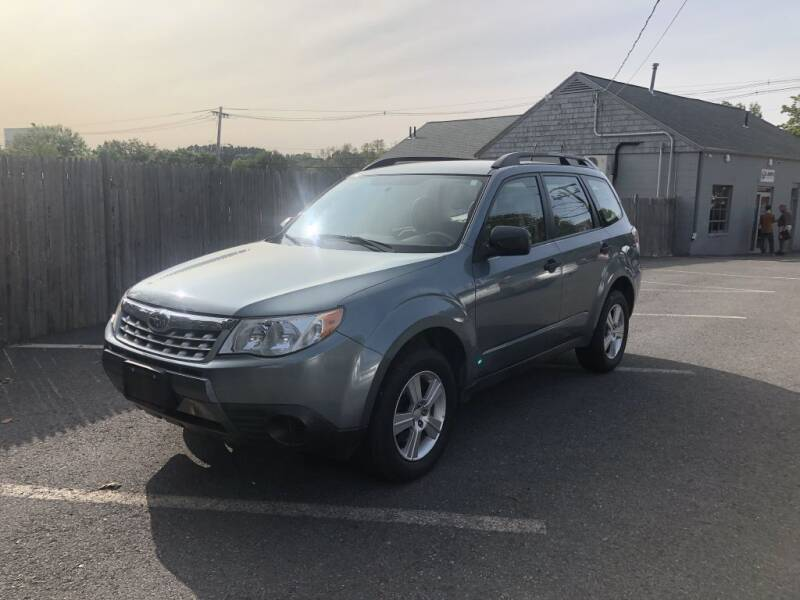 2012 Subaru Forester for sale at LARIN AUTO in Norwood MA