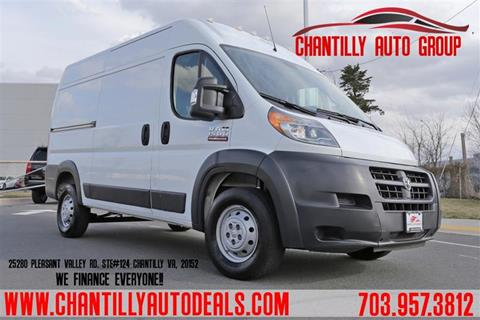 2018 RAM ProMaster Cargo for sale in Chantilly, VA
