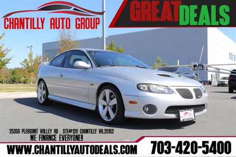 2006 Pontiac GTO for sale in Chantilly, VA