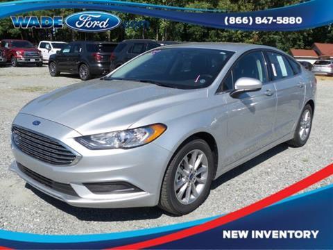 2017 Ford Fusion for sale in Smyrna, GA