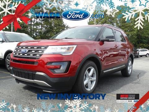 2017 Ford Explorer for sale in Smyrna, GA