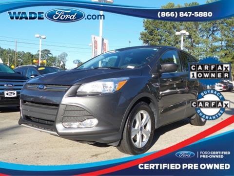 2015 Ford Escape for sale in Smyrna, GA