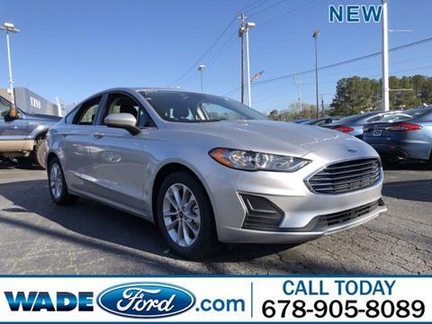 2019 Ford Fusion for sale in Smyrna, GA