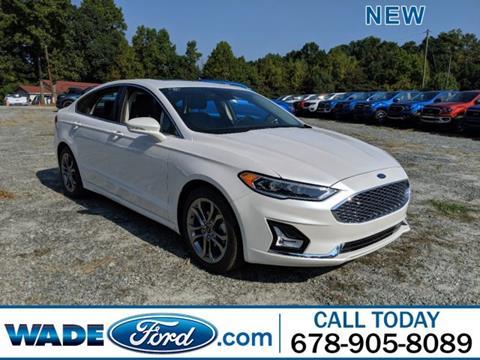 2020 Ford Fusion Hybrid for sale in Smyrna, GA