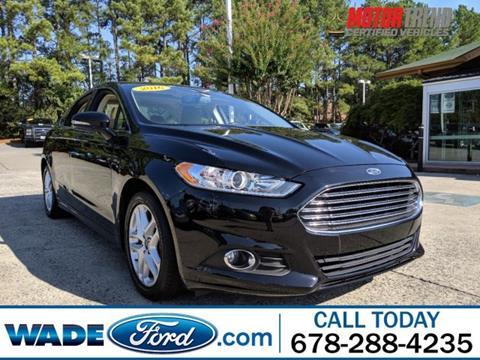 2016 Ford Fusion for sale in Smyrna, GA