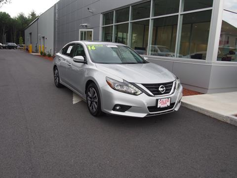 2016 Nissan Altima for sale in Salem, NH