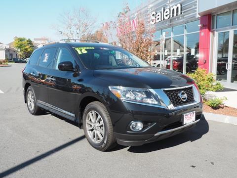 2016 Nissan Pathfinder for sale in Salem, NH