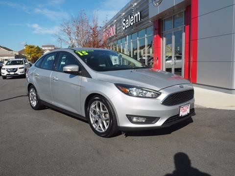 2015 Ford Focus for sale in Salem NH