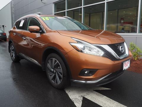 2015 Nissan Murano for sale in Salem, NH