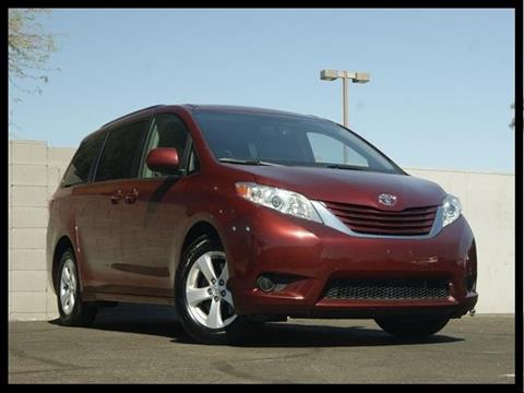 2015 Toyota Sienna for sale in Glendale, AZ