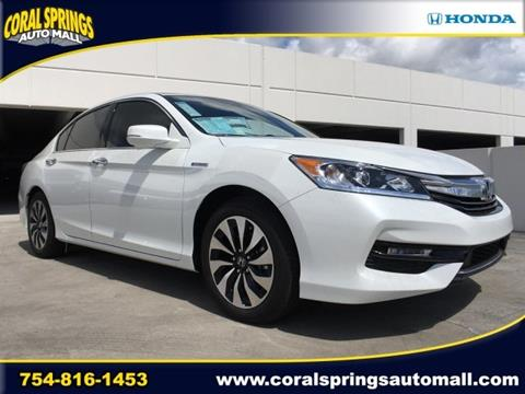 2017 Honda Accord Hybrid for sale in Coral Springs, FL
