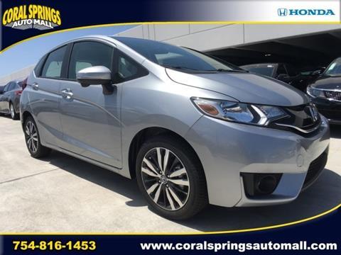 2017 Honda Fit for sale in Coral Springs, FL