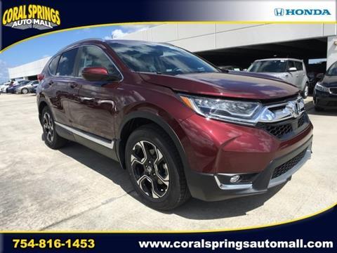 2017 Honda CR-V for sale in Coral Springs, FL
