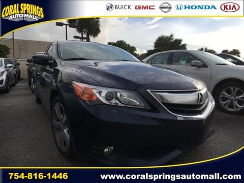 2013 Acura ILX for sale in Coral Springs, FL