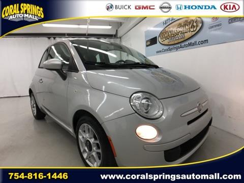 2012 FIAT 500 for sale in Coral Springs, FL