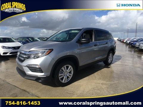 2017 Honda Pilot for sale in Coral Springs, FL